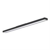 Luminária Sobrepor Slim Preta LED 36W 4000K Bivolt - Trancil