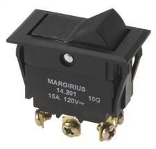 Chave 14203 MFT1FP1Q Liga/Desliga/Liga tecla 15A Margirius