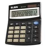 Calculadora Mesa 12 Dígitos Solar/Bateria Elgin