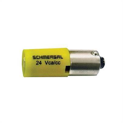 Sinalizador Alto Brilho BA9S 24VCA CC IN S1L 10 Ace Schmersal 55bbef03de