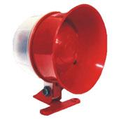 Sirene Piezoelétrica 12/24Vcc 115 Decibéis Vermelha DNI4325 DNI-Key West