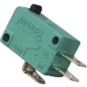 Microrutor 10A 250Vca com Botão Metaltex