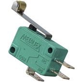 Microrutor 10A 250Vca com Alavanca Rold. Metaltex