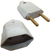 Plug Macho + Fêmea Cinza IN202030E.1 Lumibras