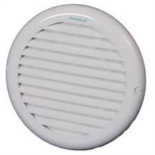 Grade Ventilação Redonda Para Duto 100/125/150mm Ventokit