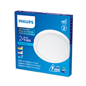 Plafon LED Branco Redondo 24W Branca Fria 30cm Bivolt Philips