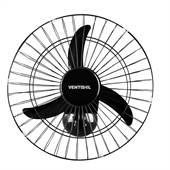 Ventilador Parede Preto 127/220V 200W 50cm Ventisol