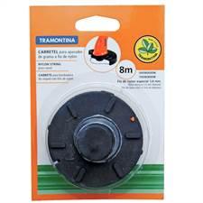 Carretel Fio Nylon 1,8mm para Cortador Grama Tramontina