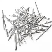 Rebite Alumínio 4mm x 8 mm Embalagem com 100 Peças