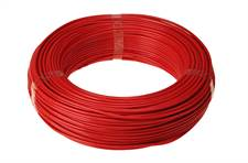 Rolo Cabo Flexível 750V 2,50mm² 100 Metros Vermelho