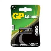 Bateria para Câmera Lítio 3V CR123 1Peça