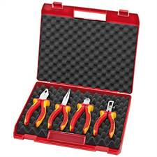 Jogo de Alicates Isolados 1000V 002015 Knipex