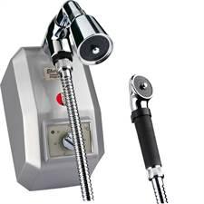 Ducha Eletrônica com Desviador Prata 220V 8800W KDT