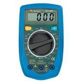 Multímetro Digital  10A DC 500V ACDC ET1400 Minipa