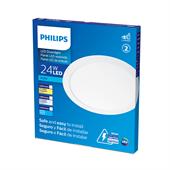 Painel de Led Branco Redondo 24W Branco Quente 30cm Bivolt - Philips
