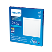 Painel LED Branco Quadrado 24W Branca Fria 30cm Bivolt - Philips