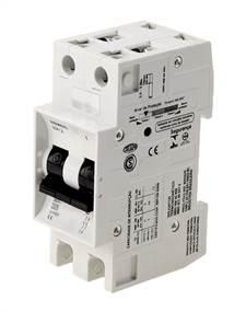Disjuntor 2X25A Curva C 220V 5KA 5SX12257 Siemens