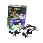 Cordão Luminoso 8m 10 Leds 3W Uso Externo Branco 100/240V